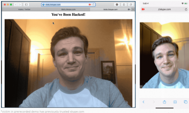 camera hacked